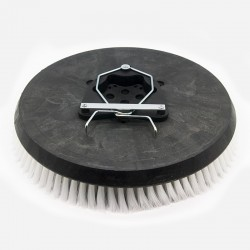 BROSSE NYLON POUR AUTOLAVEUSE POUR AUTOLAVEUSE TENNANT T7 / 7100 (80) / 5700 (80) DIAM 410MM (0.5MM)
